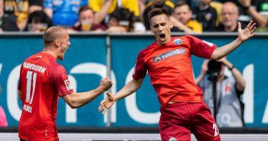 Dynamo Dresden vs. SC Paderborn 07 – Football Match Report – May 19, 2019