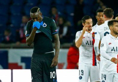 Club Brugge striker Mbaye Diagne fined, dropped for penalty miss vs. PSG