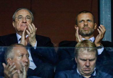 "UEFA boss Aleksander Ceferin blasts Real Madrid president for ""selfish"" league scheme"