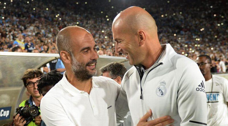 As Madrid, Man City seasons hinge on Champions League, Guardiola and Zidane put mutual admiration aside