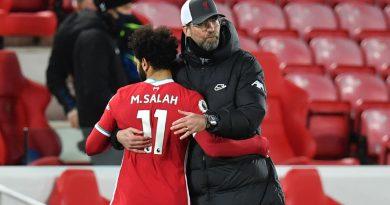 Jurgen Klopp tight-lipped on Mohamed Salah's Liverpool future
