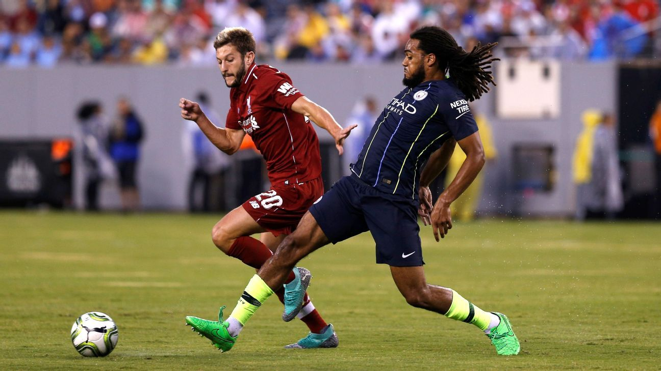 Manchester City Vs Liverpool Football Match Report July 25 2018 Football News Central